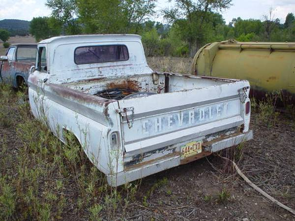 1965 SWB Chevy Pickup       - $950 (near Alpine)