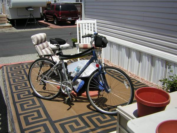 northrock-sc7-20frame-1yr old like new - $190 (morro bay)