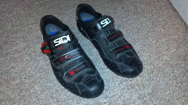 SIDI Dominator 5 Mtn Bike Shoes, GREAT CONDITION size 44 12 eu - $165 (SLO)