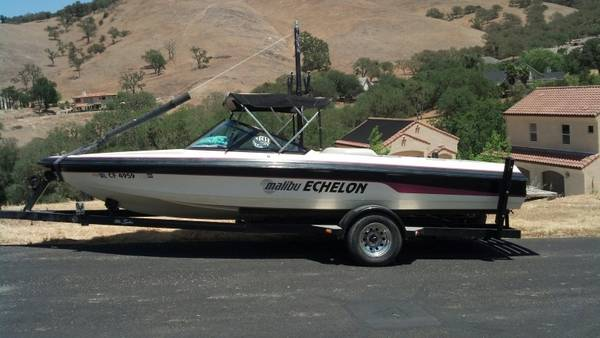 1993 Malibu Echelon Ski Boat.. Very Clean..MUST SEE - $11500 (Paso Robles)