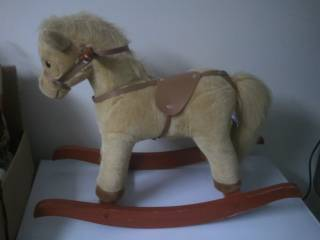 Chrisha Playful Plush Rocking Horse.  - $20 (Atascadero, CA )