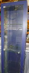 Glass Display Cabinet w 3 glass shelves light -  75  Paso Robles