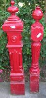 Antique Late 19th Century Stair Parts  Spindles  amp  Shutters  Santa Barbara