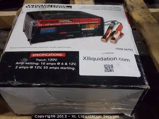 0008  Chicago electric battery charger   - $1 (stockton)