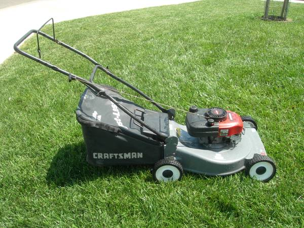20 Craftsman Rear BagMulching Lawn Mower 6.0 HP - $115 (Stockton)