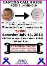 gt  gt  Cute Kid Casting Call  lt  lt   890 Morse Ave  Sac 95864