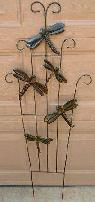 Dragonfly Metal Sculpture for Ur Garden or Indoors 48  Tall Xlnt  -  19  Manteca Tesoro Park Neighborhood