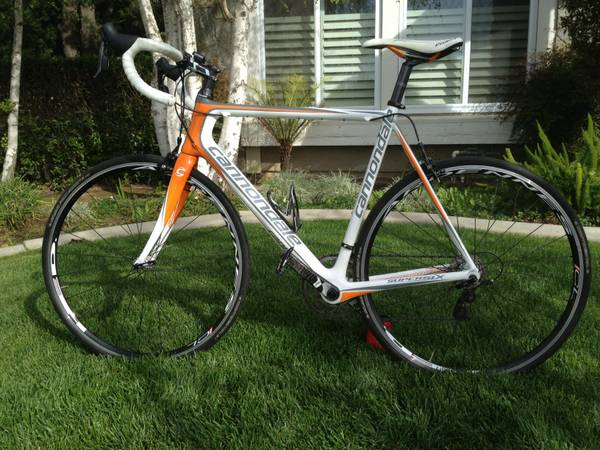 2011 Cannondale SuperSix4Rival-58mm - $1600 (Simi Valley)