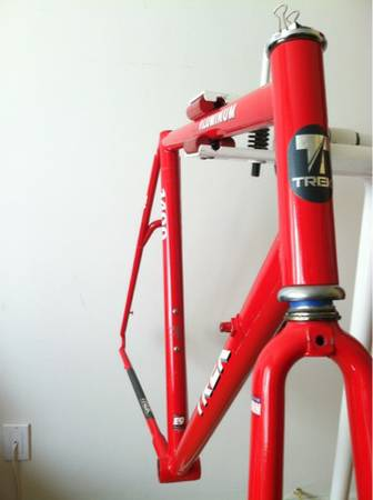 TREK 1400 Aluminum Road Bike Frame with Forks - $135 (Ventura)