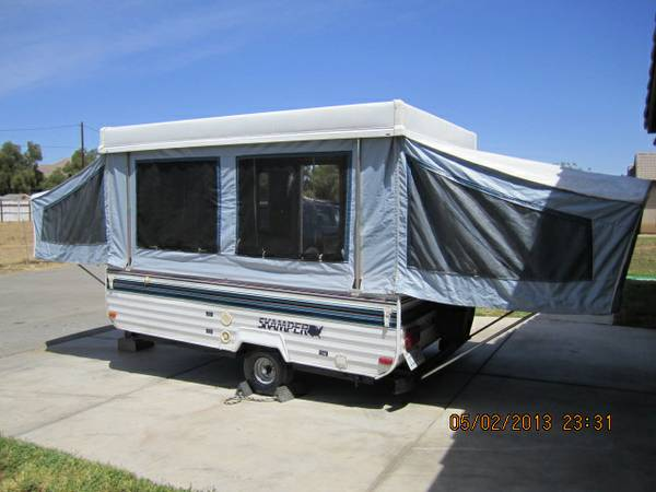 SKAMPER POPUP TENT TRAILER NEW - $2150 (riverside)