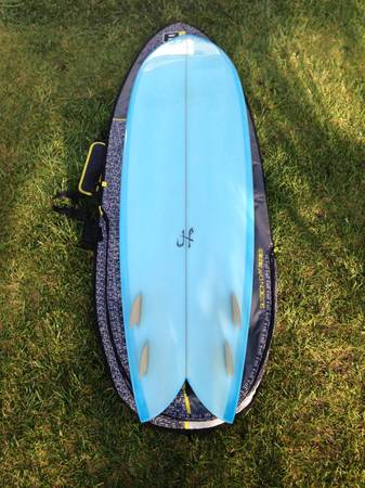 Josh Hall 69 Long Fish Simmons Quad - $450 (Ventura)