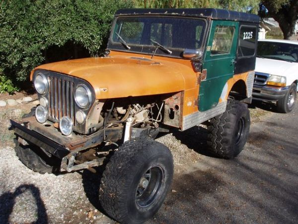 Early AMC Jeep CJ5 4x4 for parts - $25 (Ojai)