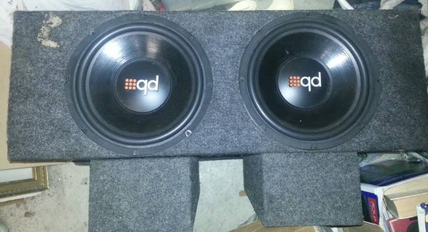 REDUCEDPowerbass 12s with box - $200 (Ventura)