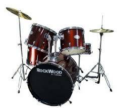 ROCKWOOD DRUM SET BY HOHNER - $75 (Moorpark - off Tierra Rejada  Mtn Trail)