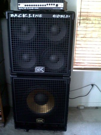 GK Bass Amp Complete Rig  - $450 (Ventura)
