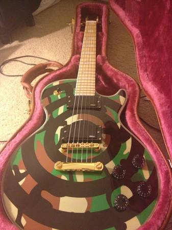 Gibson Les Paul Zakk Wylde Custom guitar