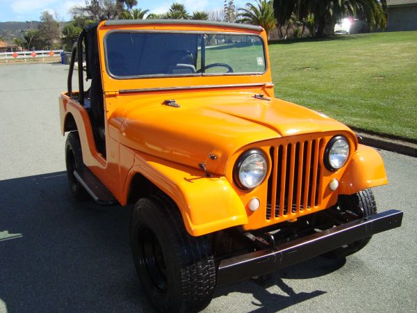 1965 cj-5 4x4 Willys military jeep  - $4500 (san diego)