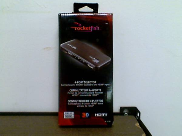 Rocketfish - 4-Port HDMI Selector - $50 (Yuma)
