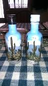 Hand painted salt  amp  pepper shakers -  25  Yuma